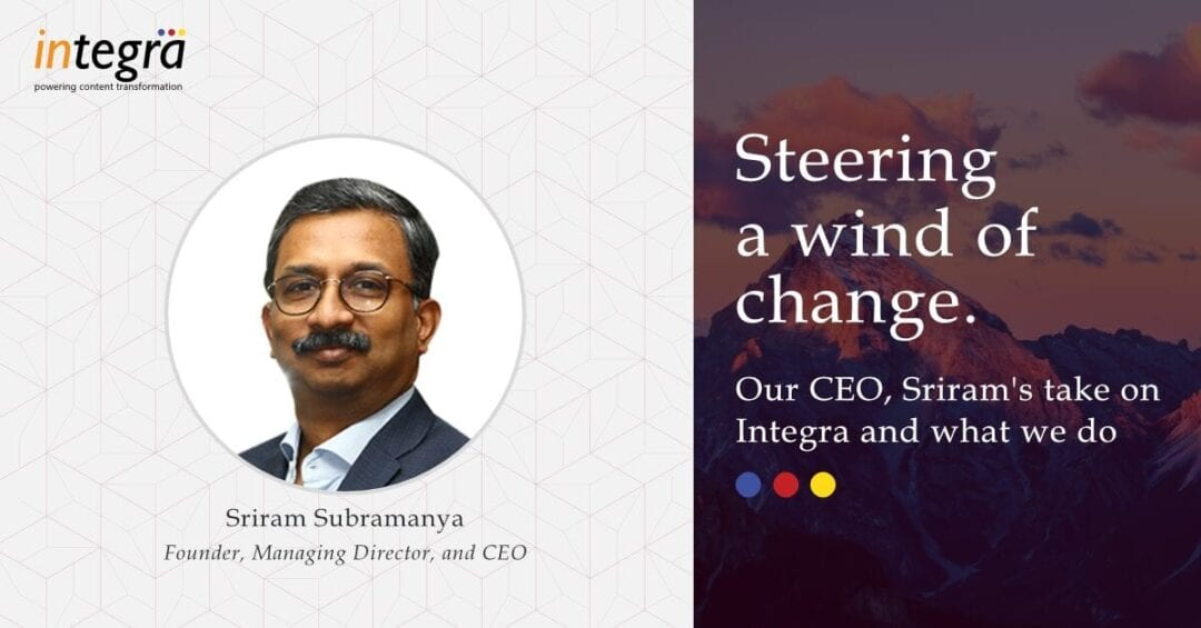 Integra – Putting India's Digital Content Solutions Industry on the Mapq