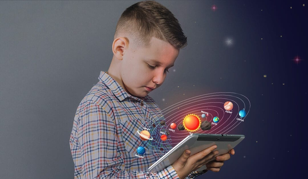 Harness Attention, Revolutionize Learning and Improve Learning Gains with AR in School Education